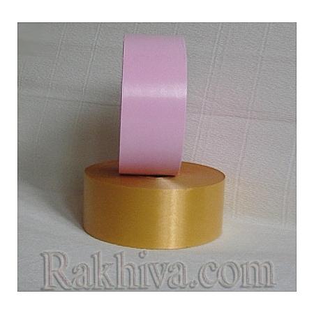 Панделки чисти цветове, 1 ролка 5см/ 100ярда 5/100/28200 (злато)