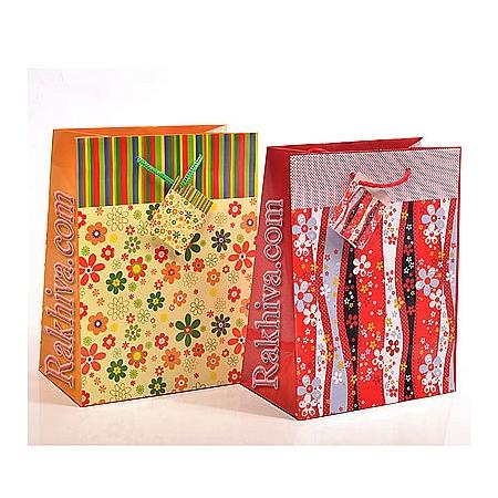 Ламинирани хартиени торбички на бройка с картичка
