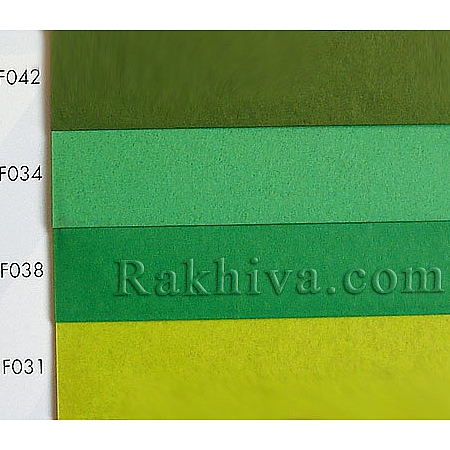 Тишу (Италия Cartotecnica rossi),  F034 (светло зелено)