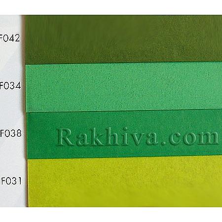 Тишу (Италия Cartotecnica rossi), кат.№: F042 (войнишко зелено)
