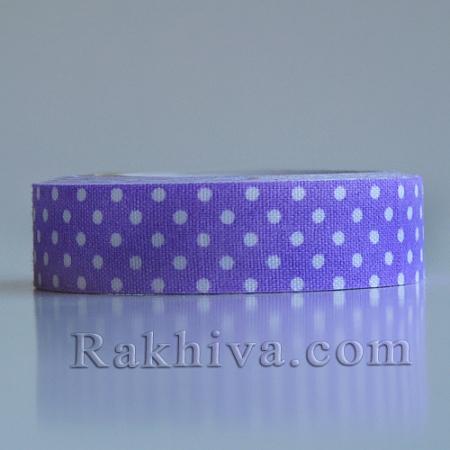 Декоративно тиксо Точки, лилаво (DIY-A003-C14)