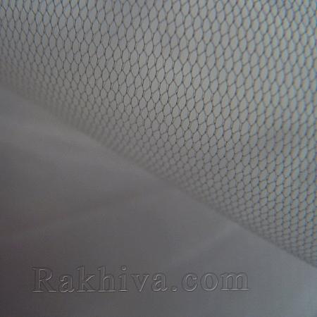 Италиански тюл цвят сиво, сиво за 1 линеен м (3 кв. м) 86/21