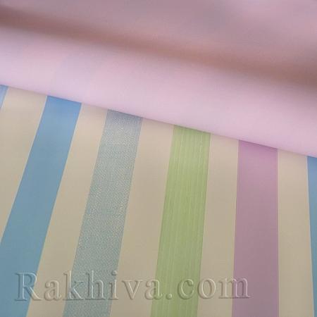 Италиански целофан Райе (розово), 100 см х 100 см (листи) (100/100/2/40)