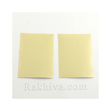 Перлен сатен лист (самозалепващ гръб), 1 лист, злато, 100мм/ 65мм (DIY-Q003-01F)