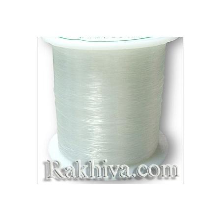 Прозрачен шнур за бижута, корда - 0.50 мм