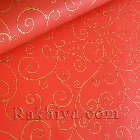 Опаковъчни ролки целофан Спирала,  ролка/ червено (70см/ 20м) (70/20/17180-200)