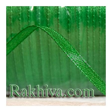 Панделка сатен - тревисто зелено, 3 мм/ 20 метра 149/(3/20/2365), без шпула