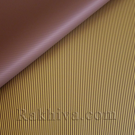Целофан за опаковане , Стилна/ кафяво, злато (70/100/51134-200)