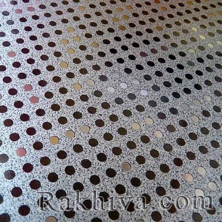 Луксозна италианска хартия за опаковане Star (метализе), 71B/60 черно