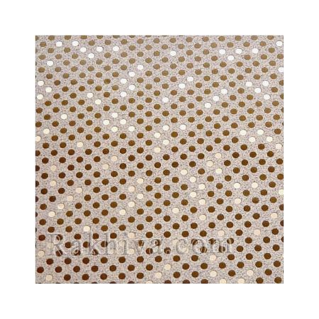 Луксозна италианска хартия за опаковане Star (метализе), 71B/51-1 кафяво