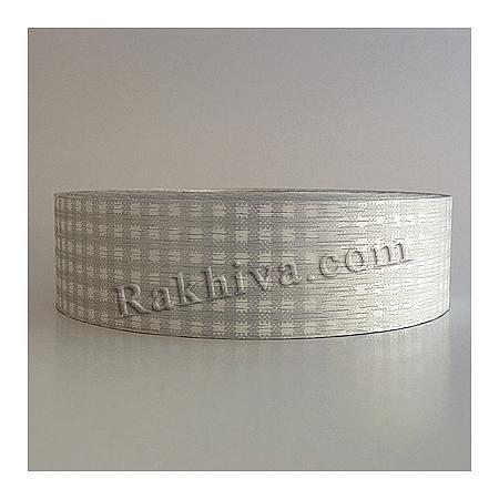 Панделка пастел каре - Гърция, каре сребро (3/75/30300)
