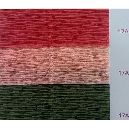 Крепирана преливаща хартия (Италия Cartotecnica rossi) 180 гр., 17/A7 (сьомга)
