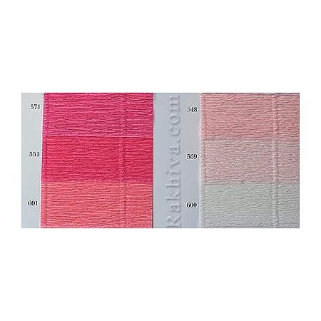 Крепирана хартия (Италия Cartotecnica rossi) 180 гр., 20/548 ( розов кварц)