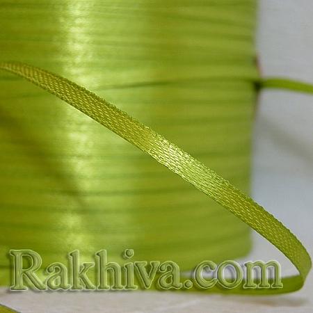 Панделка сатен - резеда, 3 мм/ 20 метра 134/(3/20/2361), без шпула