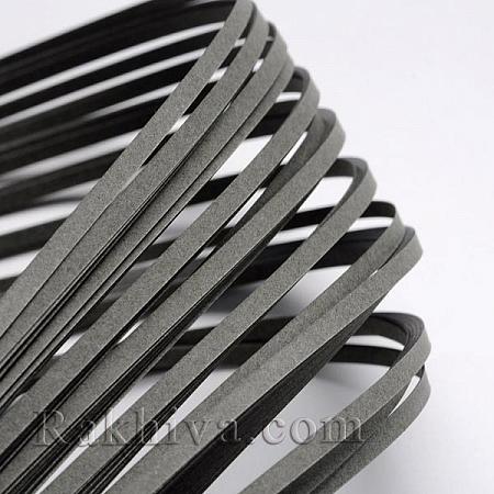 Квилинг лентички светло сиво, 3мм/ 390мм (DIY-J001-3mm-B34)