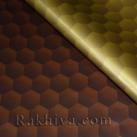 Целофан за опаковане , Сладък живот/ шоколад , злато (70/100/201432-200)