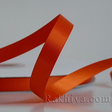 Двоен сатен, 10 мм/ 25 ярда, т. оранжево (10/25/523761)