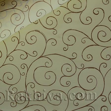 Опаковъчни ролки целофан Спирала,  ролка/ екрю (70см/ 20м) (70/20/17112-200)