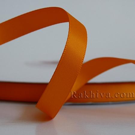 Двоен сатен, 10мм/ 25 ярда, оранжево (10/25/523668)