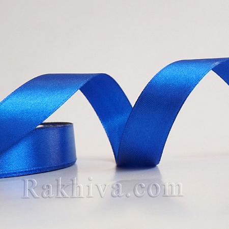 Панделка сатен - лазурно синьо, 1 ролка 20 мм/ 25 ярда 162/(20/25/2358)