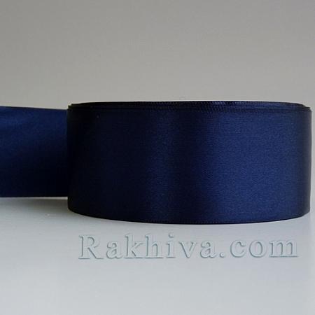 Панделка сатен - мастилено синьо, 1 ролка  37 мм/ 25 ярда 160/(37/25/2354)