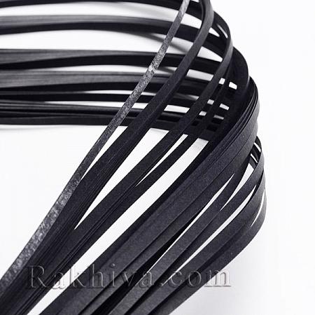 Квилинг лентички сиво, 3мм/ 390мм (DIY-J001-3mm-B36)