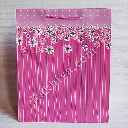 Ламинирани хартиени торбички Ракхива, 26,4x32,4x13,7 cm, 10бр. големи (6284)