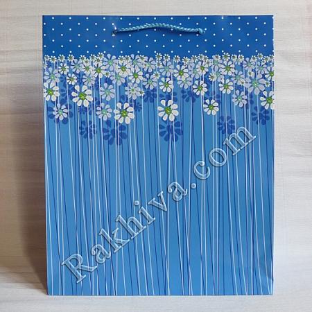 Ламинирани хартиени торбички Ракхива, 26,4x32,4x13,7 cm, 10 бр. големи (6282)