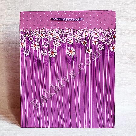 Ламинирани хартиени торбички Ракхива, 26,4x32,4x13,7 cm, 10 бр. големи (6281)