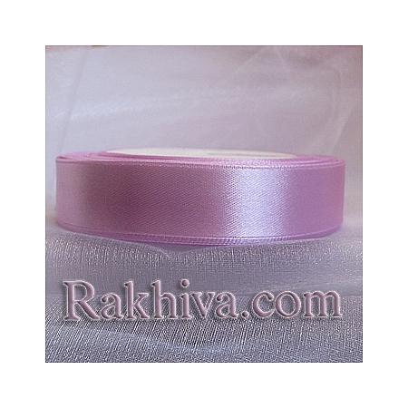 Панделка сатен - розово - лилаво, 3 мм/ 20 метра (3/20/2340-90), без шпула