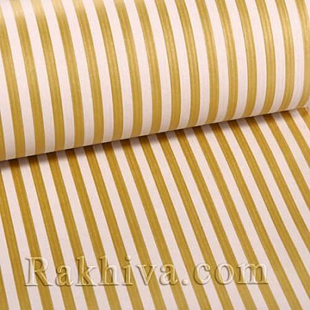 Крафт хартия за букети и опаковане Райе, 60 см/25 м, натурал,злато (60/25/18430-200)