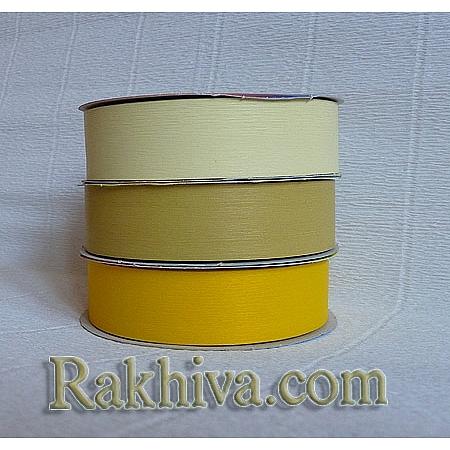 Панделка пастел - Гърция, жълто (25/50/2770)