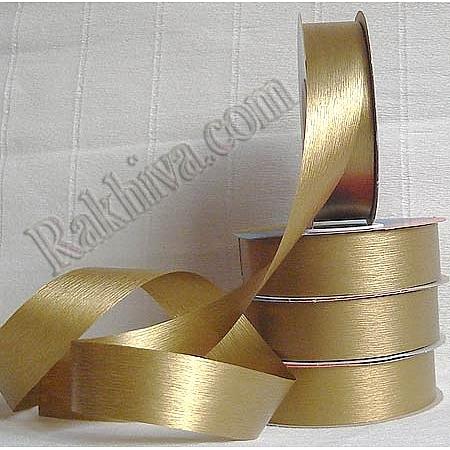Панделка пастел - Гърция, злато (25/50/27200)