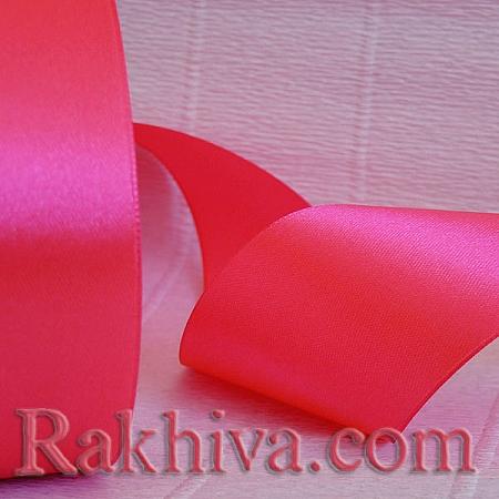 Панделка сатен - неоново розово, 3 мм/ 20 метра 186/(3/20/2343), без шпула