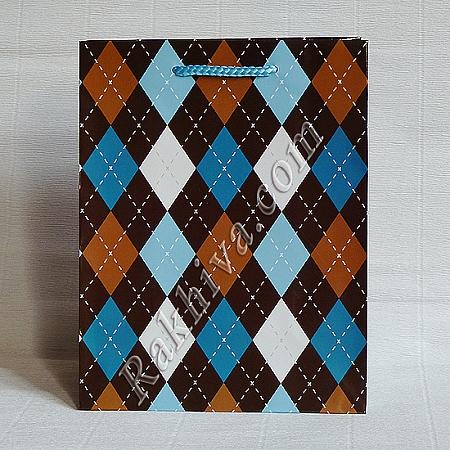 Ламинирани хартиени торбички Ракхива, 17,8x22,9x9,8 cm, 10 бр. средни (5070)