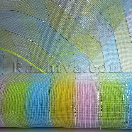 Мрежа за цветя Шарени бонбони, 9 ярда многоцветна (47/4567)