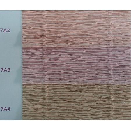 Крепирана хартия (Италия Cartotecnica rossi) 180 гр., 17/A3 (винтидж роза)