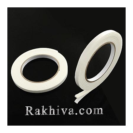Двойно лепнеща лента за 3D ефект, 8мм/ 2м, (TOOL-Q006-0.8cm)