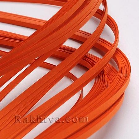 Квилинг лентички тъмно оранжево, 3мм/ 390мм (DIY-J001-3mm-B27)