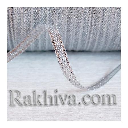 Панделка сребро, 3 мм/ 20 метра (3/20/23300), без шпула