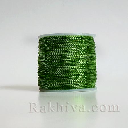 Шнур за украса, за декорация, резеда (0.8 мм) (08/100/7661)