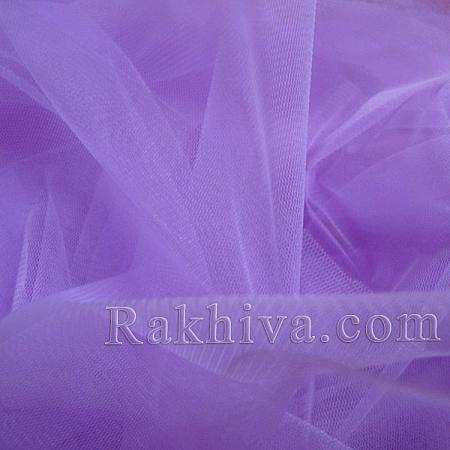 Италиански тюл цвят лилаво, лилаво за 1 линеен м (3 кв. м) 86/90