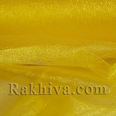 Органза ролка жълто, 47 см/ 10ярда, жълто (49/10/3670)