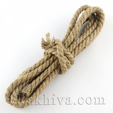 Конопено въже, 5мм/ 10м (OCOR-Q002-03)