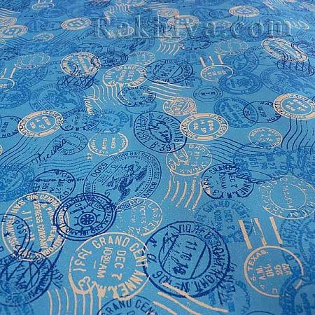 Италианска хартия за опаковане, 70 см/ 5м/ 1 ролка (277)