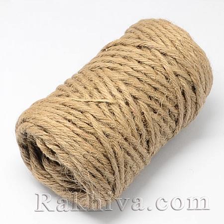 Канап, натурален шнур, 5мм/ 25м (OCOR-Q002-01D)