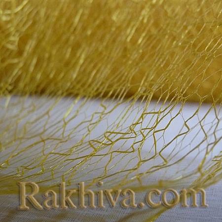 Паяжина за декорация, жълто (1 ролка) (40/10/3172)