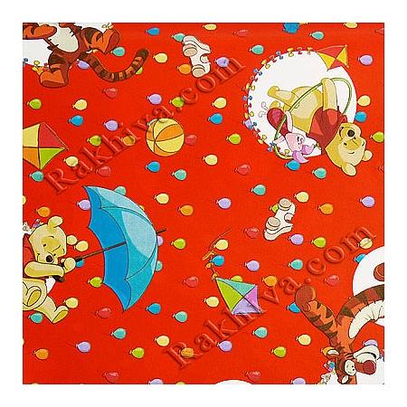 Хартия италианска - Walt Disney Мечо пух, Дисни/  674 (5 листа х 70/100см)