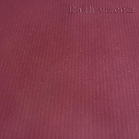 Италианска хартия за опаковане - крафт, бордо 594 (5м/ 1 ролка)