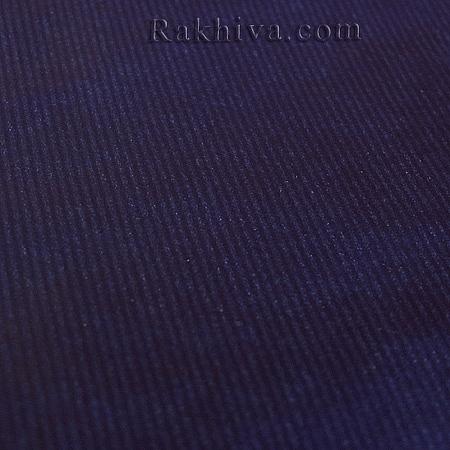 Италианска хартия за опаковане крафт, синьо 561 (5м/ 1 ролка)